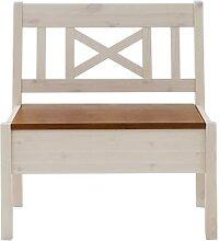 Kleine Sitzbank mit Stauraum Landhausstil