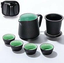 Kleine Teekanne tropffreies Teebereiter Filterfest