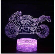 Kleine Tischlampe, Stimmungslampe, 3D-Nachtlicht