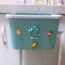 Kleine und kompakte hängende Küche Mülleimer