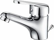Kleine Waschbeckenarmatur fürs Bad inklusive