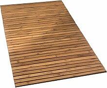 Kleine Wolke 4072202207 Holzmatte Level, 100 Prozent Bambus, natur, 80 x 50 cm