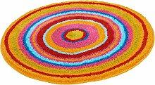 Kleine Wolke Badteppich Mandala, Multicolor 100 cm