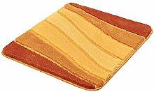 Kleine Wolke Badteppich Ocean braun/orange 55 x 65