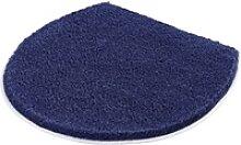 Kleine Wolke Deckelbezug Soft marineblau, 47x 50 cm