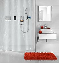 Kleine Wolke Pocket Duschvorhang, PEVA, Clear,