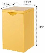 Kleiner Desktop Mülleimer,mit Deckel Papierkorb