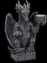 Kleiner Drachen Kerzenständer | Gothic