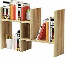 Kleines Bücherregal-Regal, einfacher