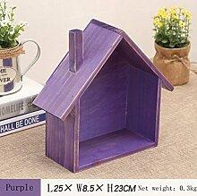 Kleines Haus-Lagerregal-Multifunktionsregal