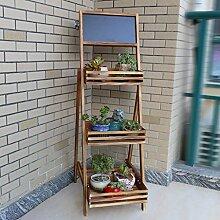 Kleines Tafel-Regal, Das Bambusgestelle Vertikales