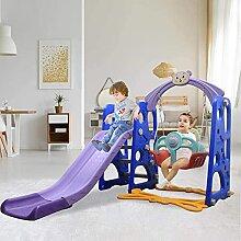 Kleinkind Kinder Rutsche Schaukel Set 3 in 1 mit