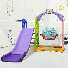 Kleinkind Musik Rutsche Schaukel Set 3 in 1 Kinder