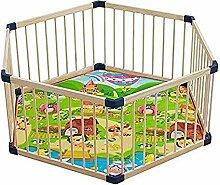 Kleinkind-Spielplatz Indoor-Spielplatz aus Holz