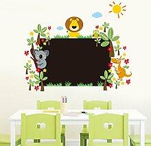 Kleintier Tafel Aufkleber Kinderzimmer