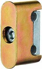 Klemmbock für Holzzargen V 3604, Stahl verzinkt ;