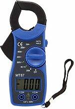 Klemme Meter - SODIAL(R) 31/2 MT87 Digitale Klemme AC/ DC-Zangenmessgeraet Voltmeter Tester mit Digitalmultimeter Klemme Meter mit 25 Millimeter Eroeffnung des blauen Backens