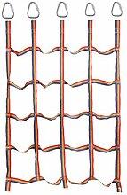 Kletternetz für Kinder im Freien, Regenbogenband