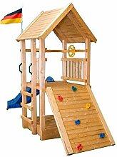 Kletterturm Holzturm Spielturm Kinder Sandkasten-