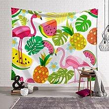KLHGWX Tapisserie Flamingo Tapisserie Wanddruck