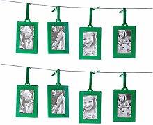 Klikel Bilderrahmen Mini Bilderrahmen Set 8 Stück
