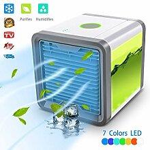 Klimaanlage Ventilator Mini Luftkühler 3 in 1 USB