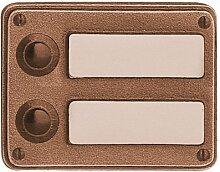 Klingel Klingelplatte oder Haustürschild 4652 mit