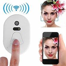 KLiNGEL Wireless Türklingel Türklingel kabellos-Außen Haus Alarm Diebstahlsicherung Notebook Wireless Doorbell mit LEDs Kamera 2.4G RF
