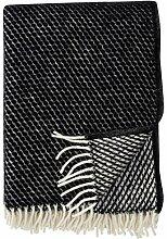 Klippan: Wolldecke 'Velvet' 130x200cm aus
