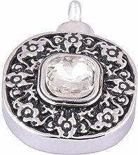 kliy Urnen & Asche Vintage Gravur Glas Diamant