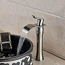 KLMSLT Wasserhahn Bad Waschbecken Wasserhahn Chrom