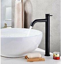 KLMSLT Wasserhahn Schwarz 304 Edelstahl Material