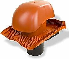 Klöber Venduct Lüfter-Set DN150 rot Universal Dachentlüftung Dachlüftung Dunstabzug KE0561-0100