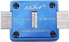 KLOM -3100 Key prüfen Keyway prüfen Keys Vervielfältigung Verein Werkzeuge