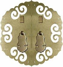 Klopfer,Chinesische türgriff Hardware-möbelgriff Ming und qing mit antiken schrank türgriff Türschloss Face plate schraube schrankeinbau-K