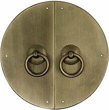 Klopfer,Klassische griff Türschnalle Klassischen stil türgriff Möbelgriff Hardware-griff Türschnalle Knopf Kabinett stulp 15cm-H