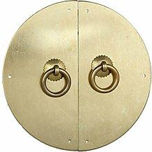 Klopfer,Klassische griff Türschnalle Klassischen stil türgriff Möbelgriff Hardware-griff Türschnalle Knopf Kabinett stulp 28cm-S