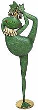Klp Deko Frosch Garten Metall Tier Figur Yoga