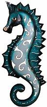 Klp Wanddeko Seepferd Seepferdchen Wandbild Metall