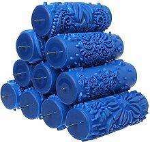 KLSK 7 INCH Tapete Dekoration Patterned Roller