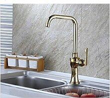 KLYBFN&N Küchenarmatur Golden Copper Für