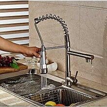 KLYBFN&N Nickel Gebürstet Küchenarmatur 360