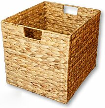 KMH®, Grosse Korb-Box aus geflochtener