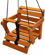 KML Große Schaukel Babyschaukel aus Holz 5