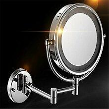 KMY Wandmontage Spiegel,Wandmontierter Verstellbar