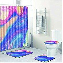 Knbob Badteppich Set 5 Aurora Style09 Wc Teppich