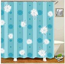Knbob Duschvorhang Durchsichtig Waschbar Fliegende
