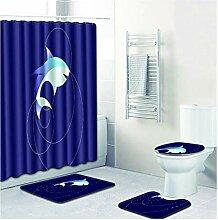 Knbob Fußmatten 4 Delphin Stil 7 Wc Teppich