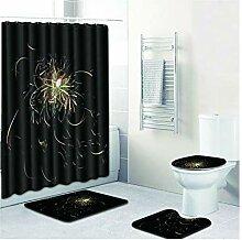 Knbob Wc Teppich Set 5 Teilig Feuerwerk Style07 Wc