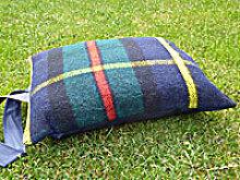 Kniekissen Tweedmill - Hunting MacLeod - Wolle